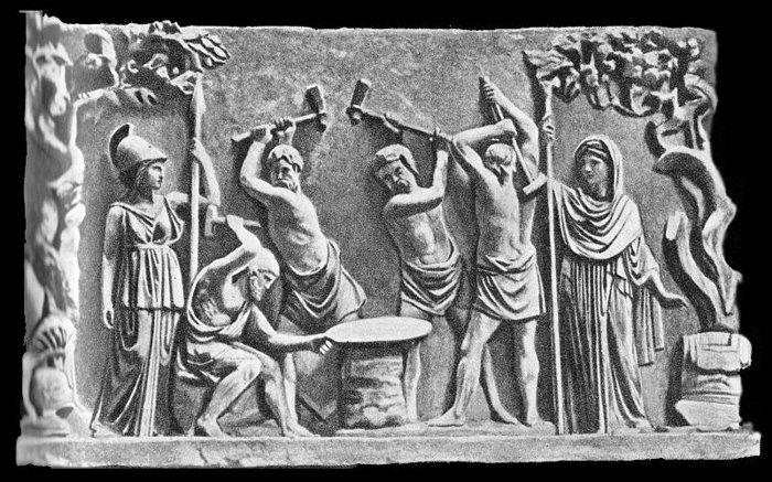 сварка в древности