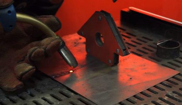 процесс сварки черного металла аргоном