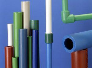 разнообразие цветов труб из полипропилена