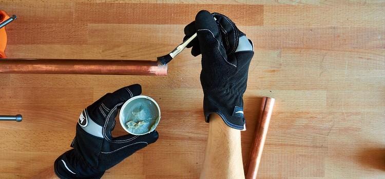флюс для пайки труб