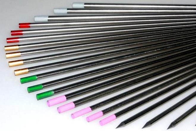 тугоплавкие электроды с наконечниками