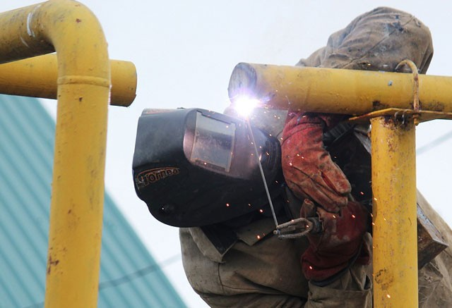 сварка газопровода
