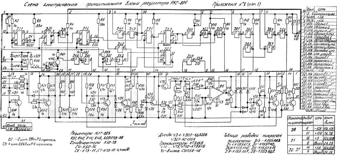схема ркс-801