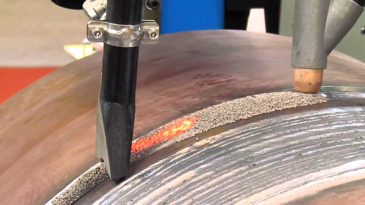 автоматическая сварка с применением флюса