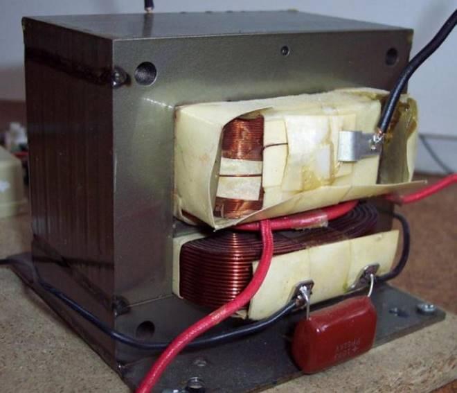 трансформатор из микроволновки