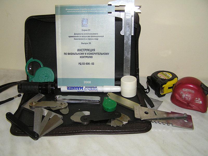 инструменты для контроля качетва швов