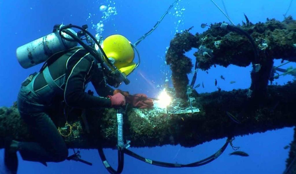 подводная гипербарическая сварка