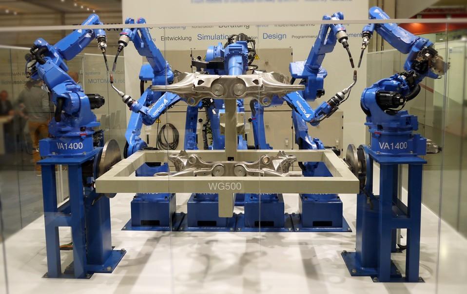 роботы для сварки