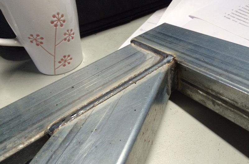 сварка оцинокванного металла