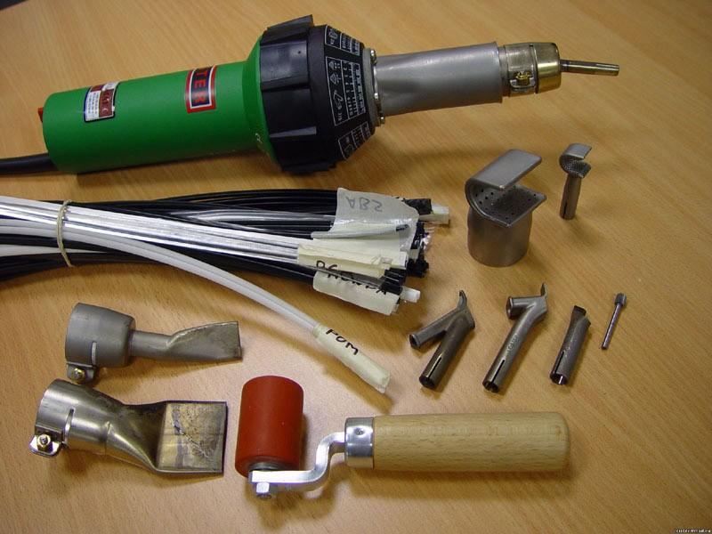 инструменты для сварки бампера