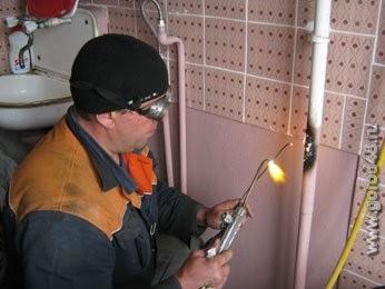 сварка газопровода в квартире