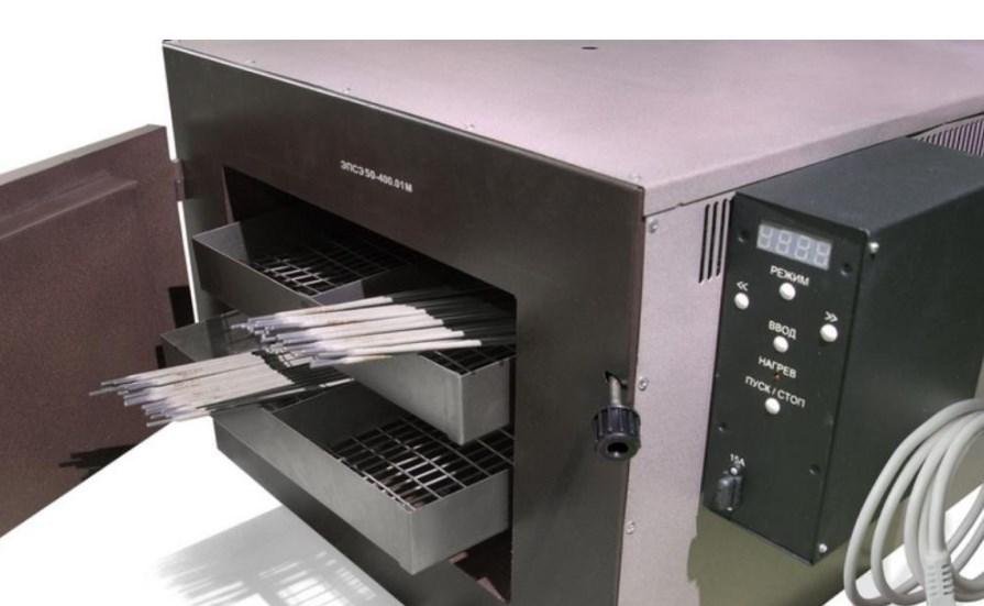 печь для сушки электродов