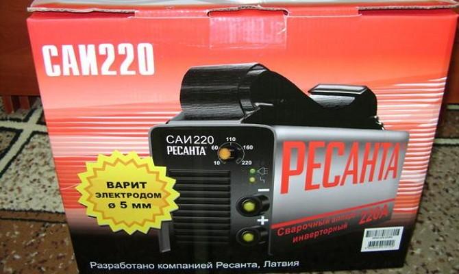 коробка ресанта саи 220