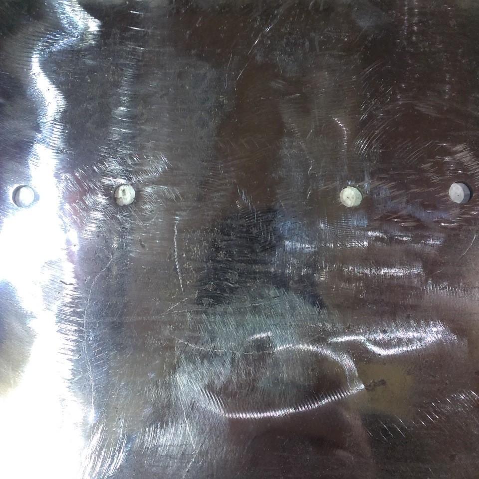 зачищенный металл