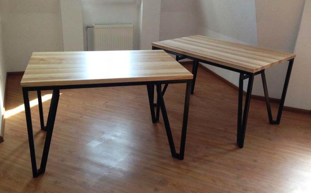 стол из профтрубы