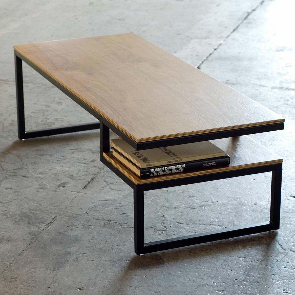 журнальный стол из профтрубы