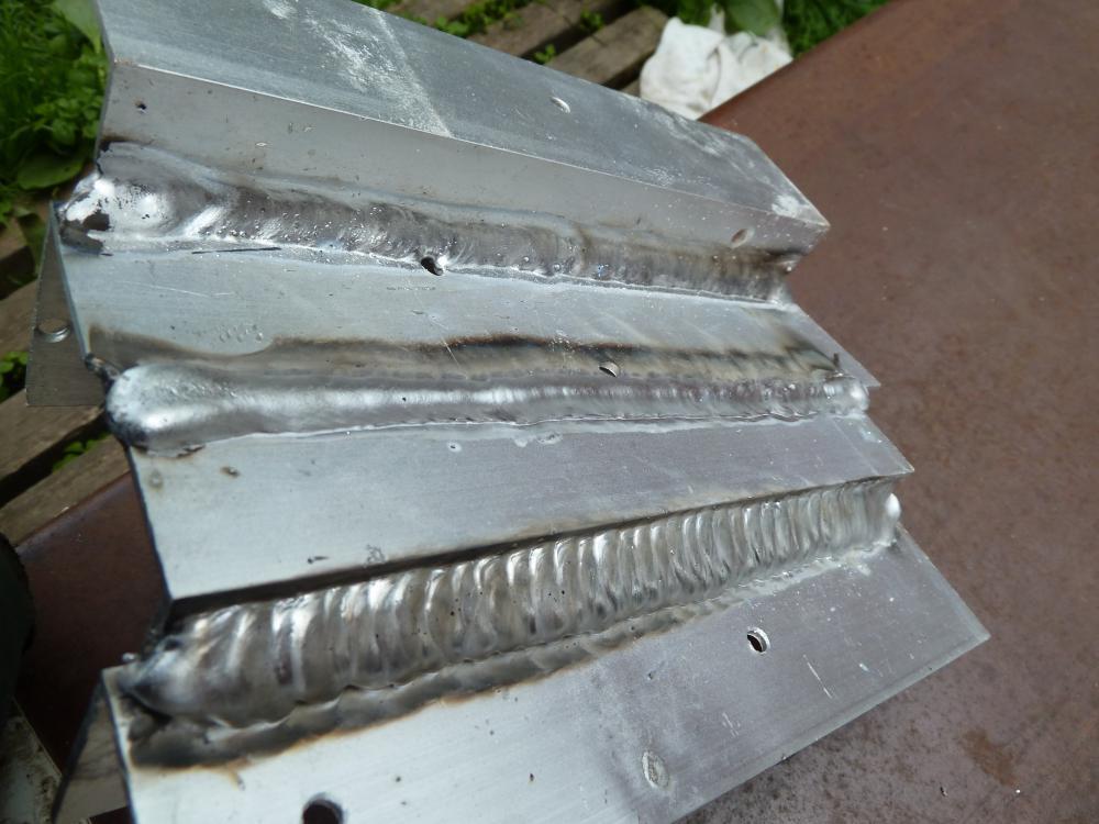 швы по алюминию полуавтоматом